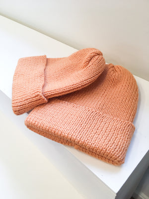 Northern Watters Turnback Toque (Peach)
