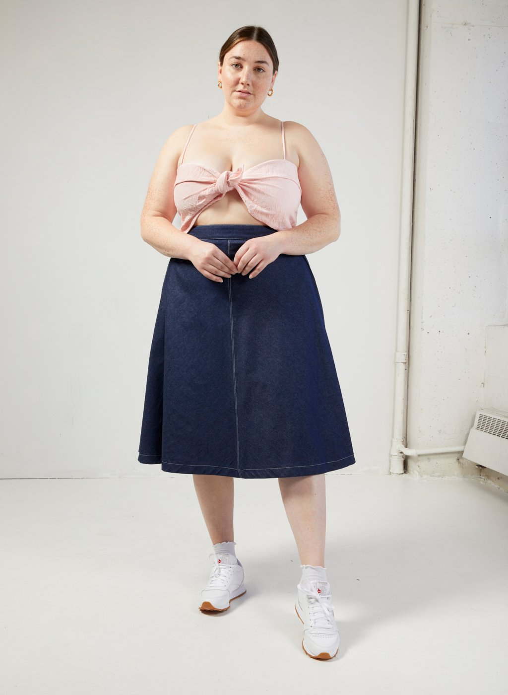 Eliza Faulkner Winnie Skirt (Denim)