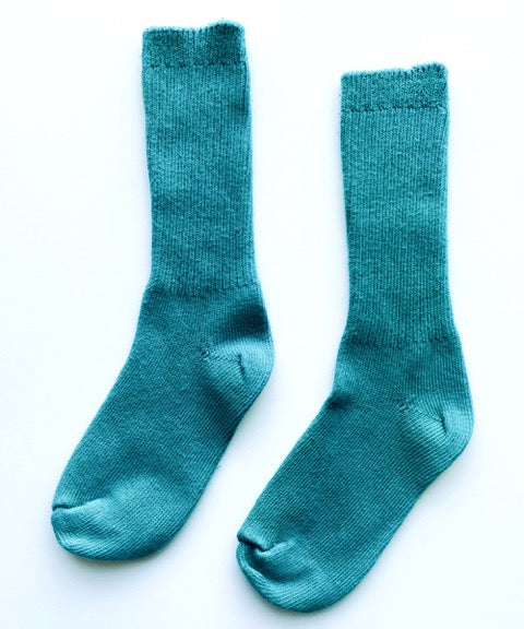 Okayok Cotton Socks (Teal)