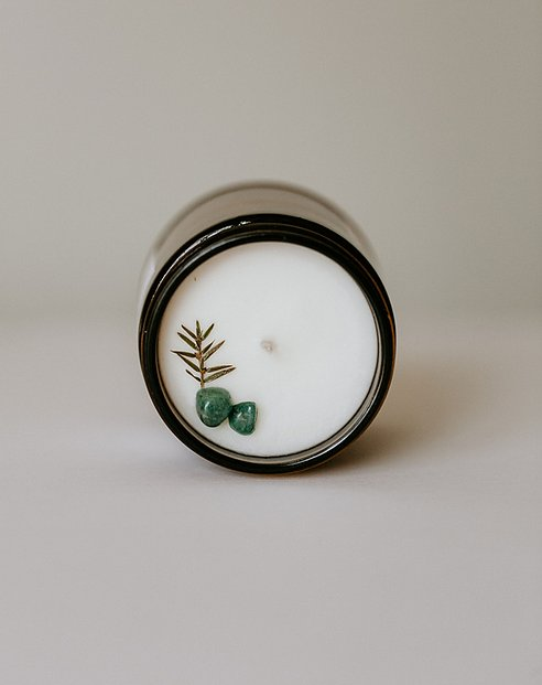 Moon + Mana Solitude Candle (Juniper + Balsam Spruce)