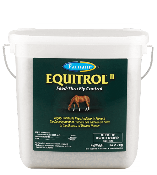 Feed-Thru Fly Control Equitrol II