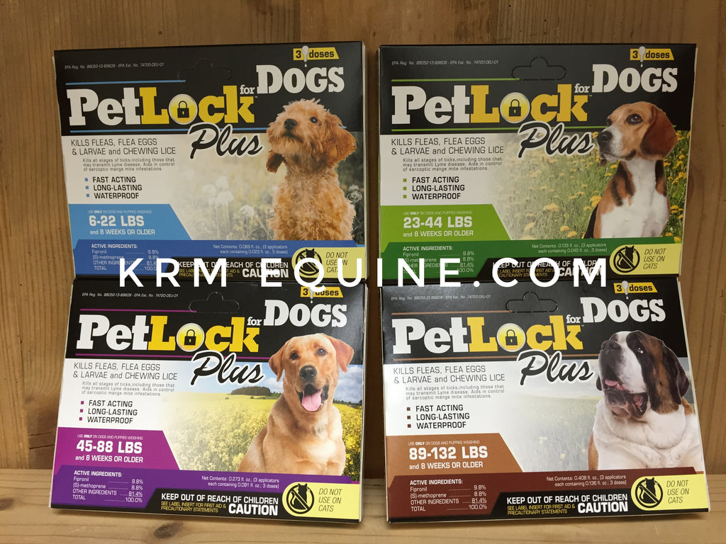 PetLock Plus Dog Flea Treatment