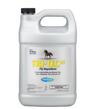 Fly repellent Tri Tec 14 (1 gallon)