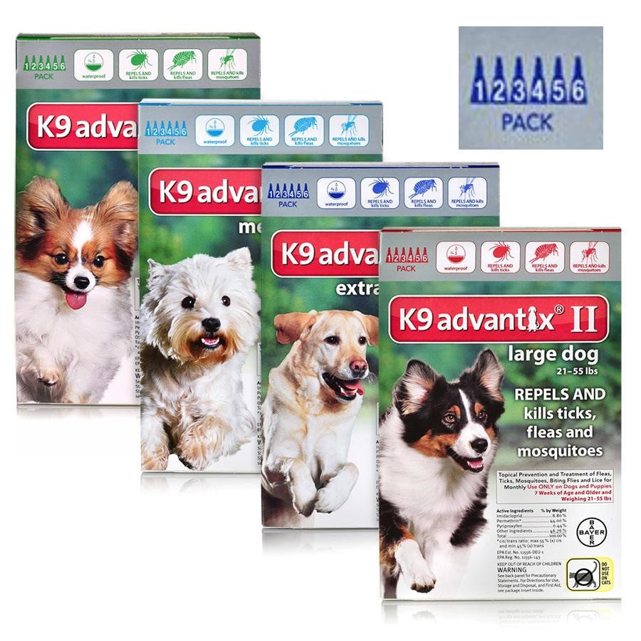 K9 Advantix II (6 Pack)