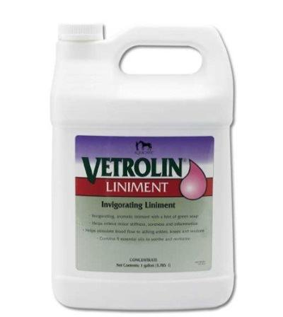Vetrolin liniment, 1 gallon
