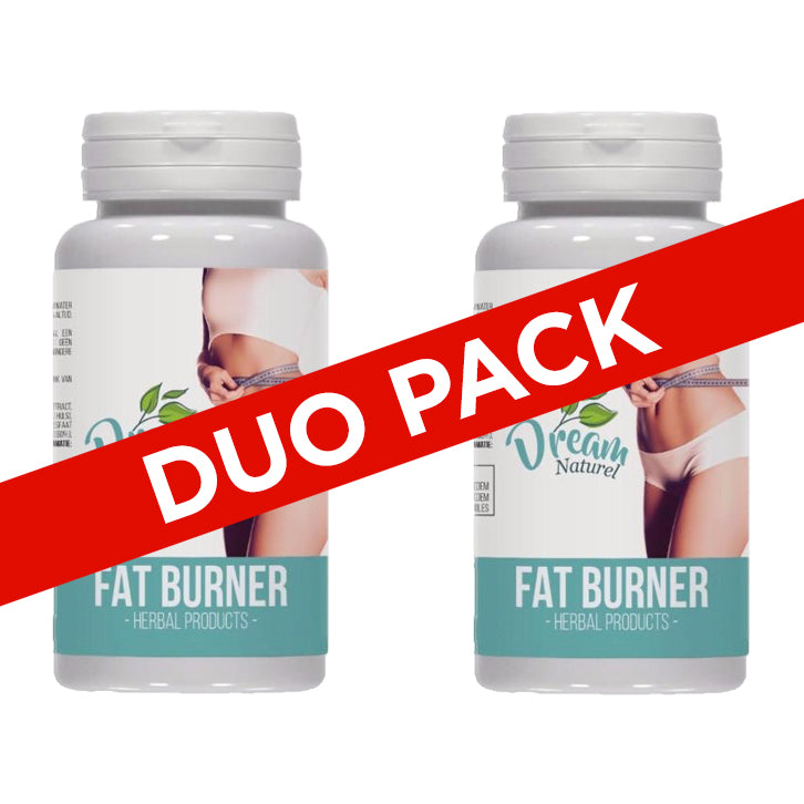 DUO PACK - Dream Naturel Fat Burner - Afslanksupplement