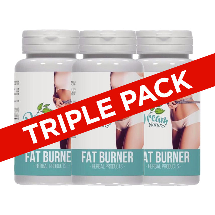 TRIPLE PACK - Dream Naturel Fat Burner - Afslanksupplement