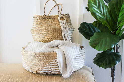 BLOOM Basket + Bag