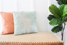 Load image into Gallery viewer, BLOOM Pillow Case in Ocean Blue