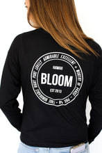 Load image into Gallery viewer, BLOOM Long Sleeve in Black