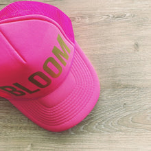 Load image into Gallery viewer, BLOOM Trucker Hat in Hot Pink