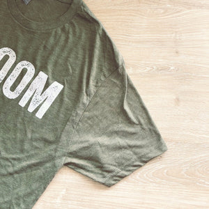 BahLOOM Tee in Olive