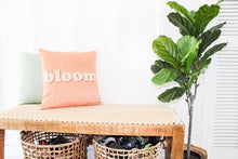 Load image into Gallery viewer, BLOOM Pillow Case in Peach