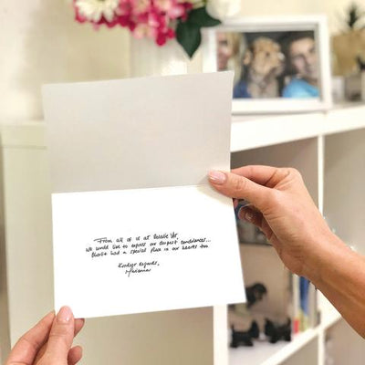 3 simple steps to show you care when sending a pet sympathy card