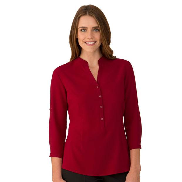 City Collection So Ezy Shirt ¾ Sleeve - Womens