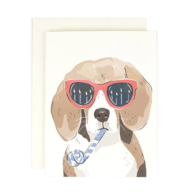 GREETING CARD - BEAGLE BIRTHDAY CARD