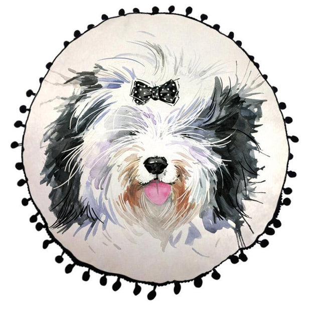ROUND CUSHIONS - Sheepdog