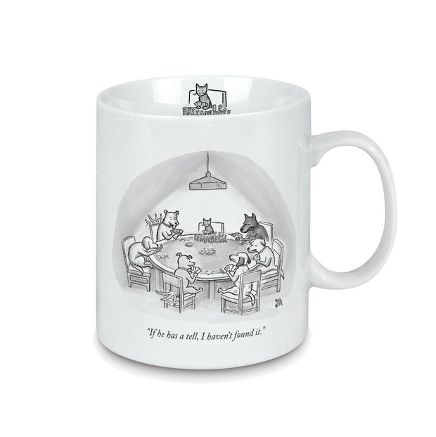 THE NEW YORKER MUG - CATS TELL
