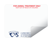 VETERINARY DYMO DRUG LABELS