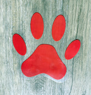 Floor Paws - (set of 4 paw stickers)