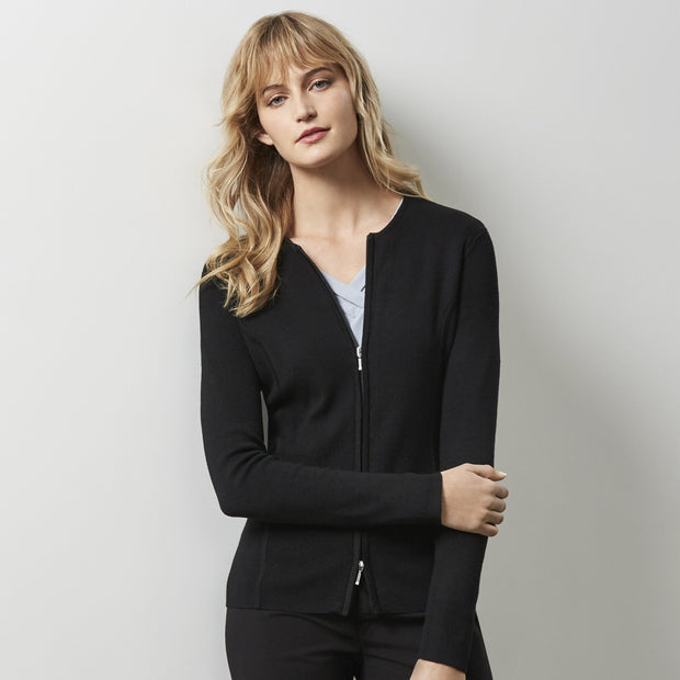 2 Way Zip Cardigan