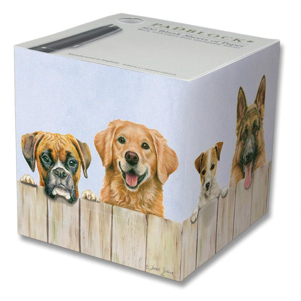 NOTEPAD BLOCK  - DOGS
