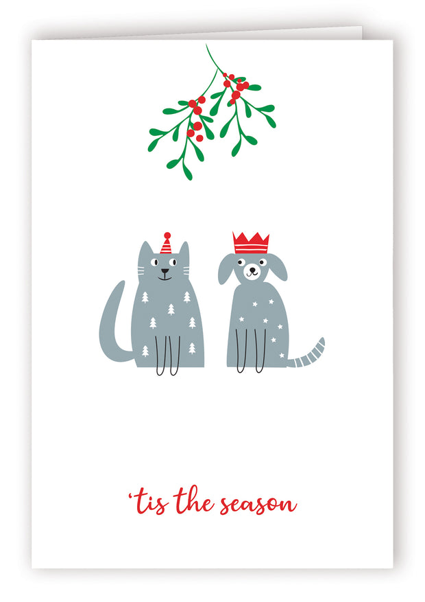 Blank Christmas Card - Tis The Season 3