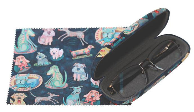 GLASSES CASE - DOG PARK