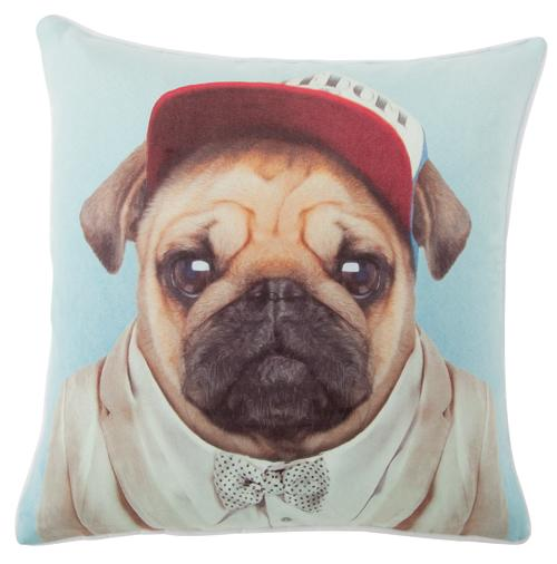 ZOO PORTRAITS CUSHIONS - Pug