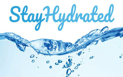 How to stay hydrated adequately?