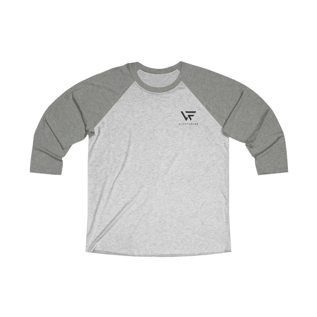 Unisex Tri-Blend Raglan Tee - Wicked Flex