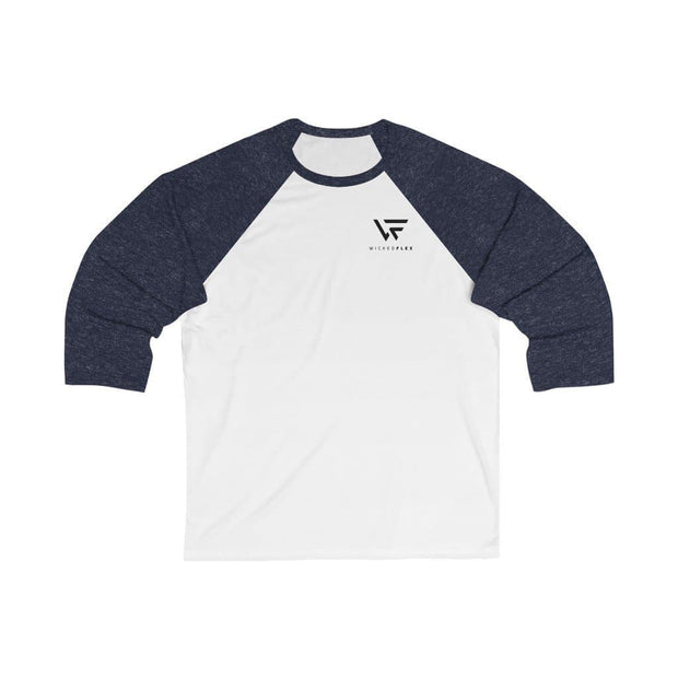 Unisex 3/4 Sleeve Baseball Tee - Wicked Flex