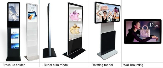 42/47/55inch ultra thin wifi advertising LG led lcd tv display signage kiosk Advertising Screens CCTV Monitor Display - Wicked Flex
