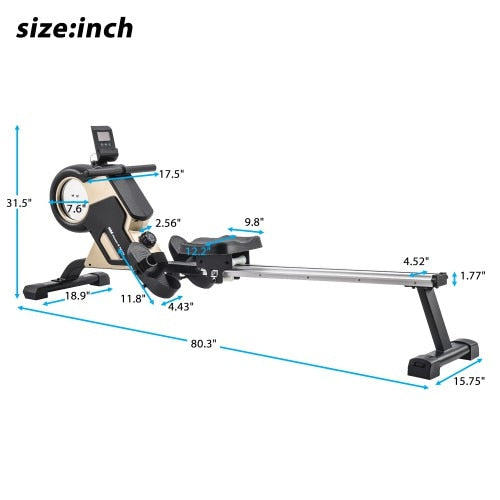 Magnetic Rowing Machine Compact - Wicked Flex