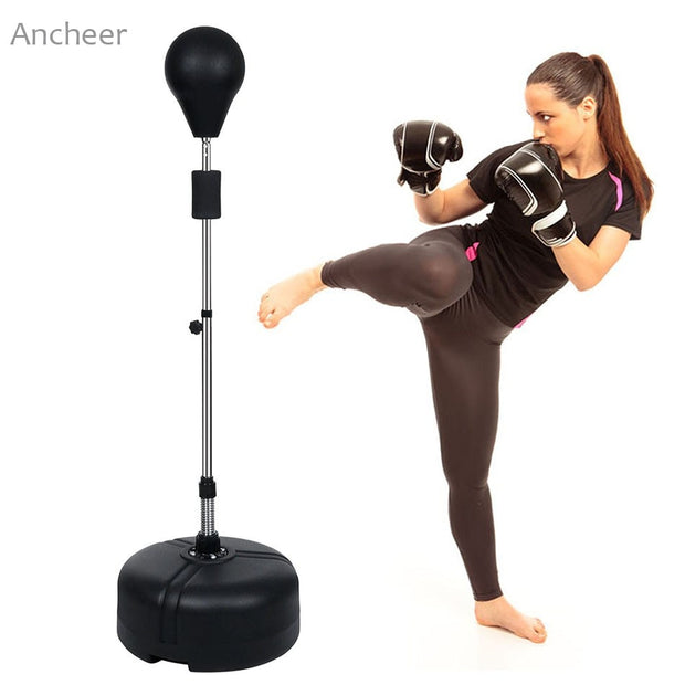Punching Bag With Adjustable Stand - Wicked Flex
