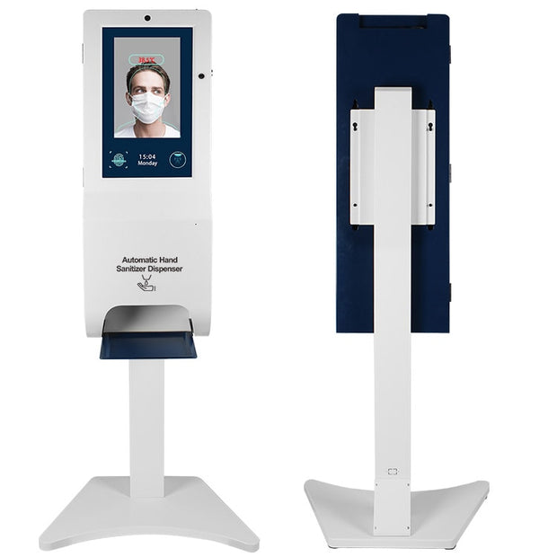 21.5 inch Touchless 3L hand sanitizer dispenser and digital signage kiosk - Wicked Flex