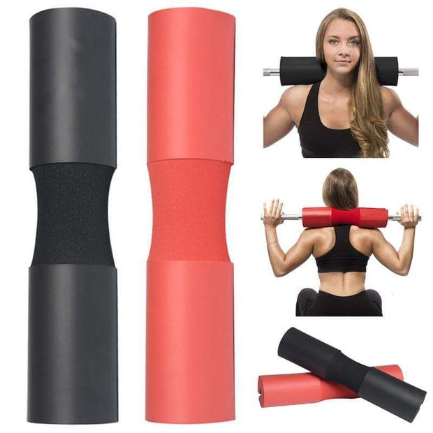 Foam Barbell Pad Squat Protector Weightlifting Neck Cover Squat Pad Shoulder Protective Bridge - Wicked Flex