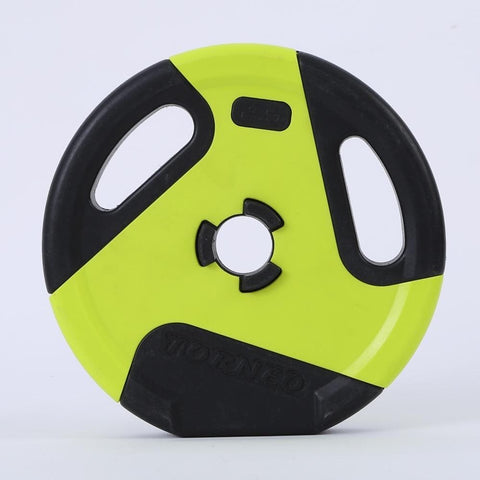 Gym Two-Color Barbell Plate Environmental Friendly Plastic - Wicked Flex