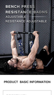 INNSTAR Resistance Band Bench Press Push - Wicked Flex
