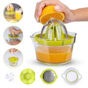 Juicer 4 In 1 Multi-functional Lemon Squeezer Orange Citrus Juicer - Wicked Flex