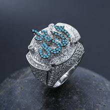 Load image into Gallery viewer, EMINENT Silver Ring With GOD Name - 80% OFF