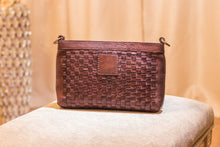 Load image into Gallery viewer, KIKO Leather Weaved Crossbody - 30% OFF