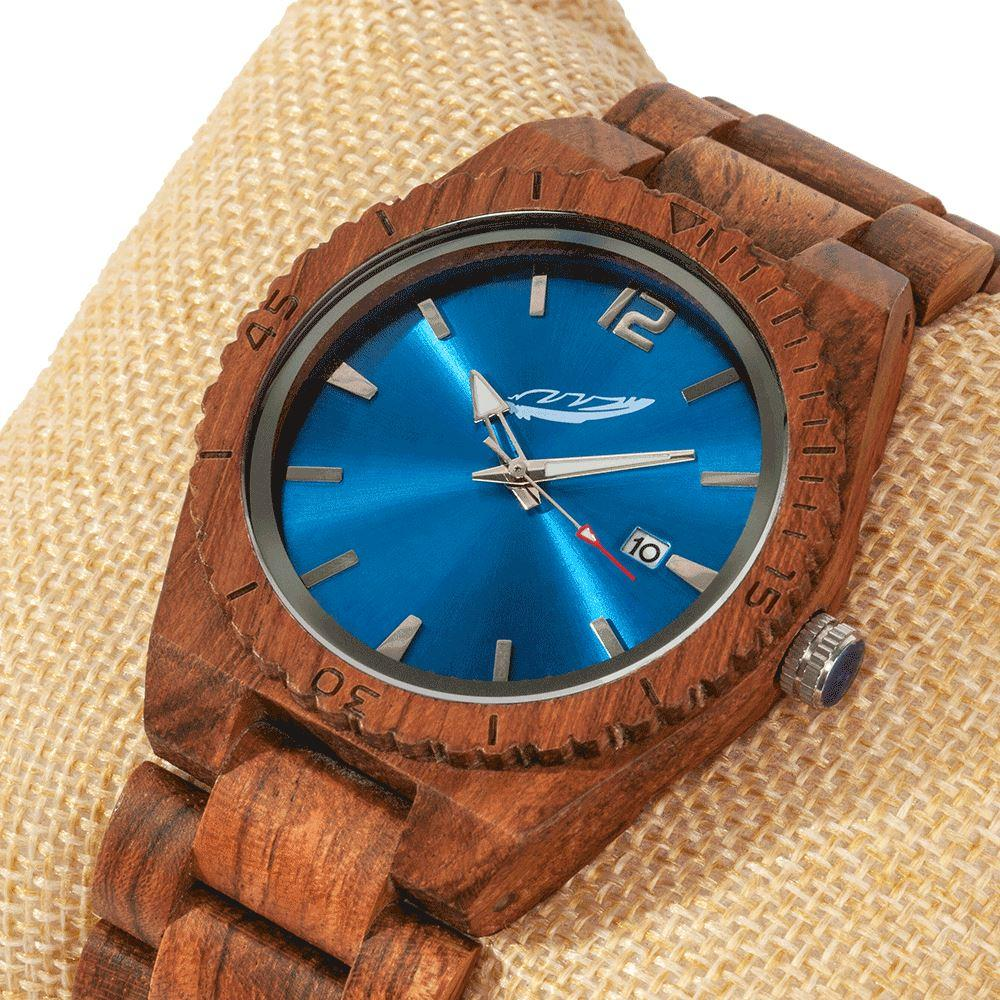 Men's Personalized Engrave Kosso Wood Watch - 50% OFF