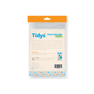 Tidys Disposable Bibs 20-pack
