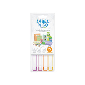 Totsafe Label N Go Write-On Self-Laminating Stickers