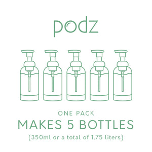 Podz Trio Bundle (30 Podz) with Free Forever Bottle