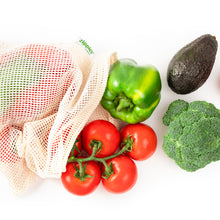 Load image into Gallery viewer, Zippies Cotton Mesh Produce Bags (Large) Pack of 5