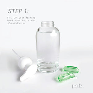 Podz Starter Kit: 1 Pouch of 10 Pods + Forever Bottle Bundle