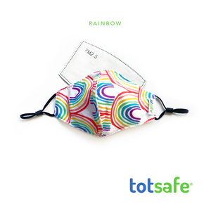 Totsafe Essential Lifestyle Mask - Mask Set with 3 pcs. PM2.5 filter