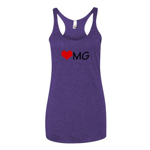 Heart MG tank top - Case of the Fridays